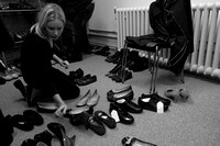 Behind the scenes: Shoes